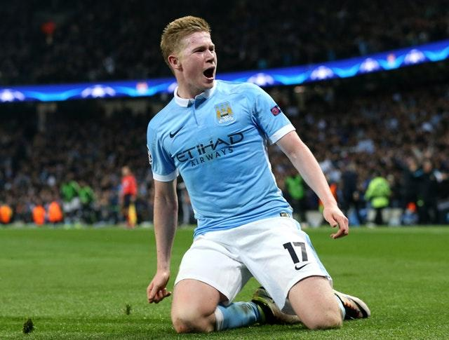 Kevin De Bruyne grabbed the decisive goal at the Etihad Stadium