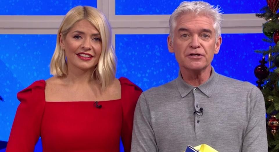 """Holly Willoughby hailed herself """"Mrs Santa Claus"""" on This Morning - here are the best affordable red dresses"""