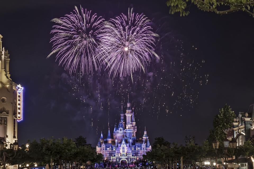 The announcement ahead of the Disney fireworks display has been changed. Source: Getty