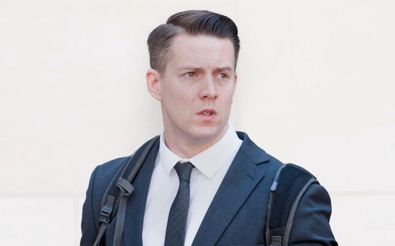 PC Adam Merriman was accused of leaving the toy in an Ann Summers bag on Alex McLaren's car outside Wembley Police Station, where they both worked - Gustavo Valiente