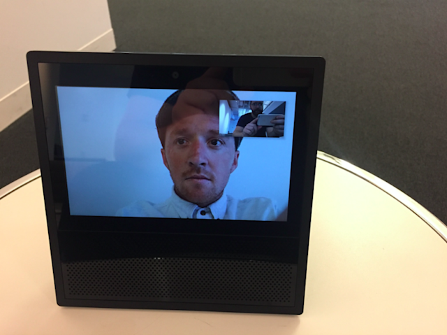Dropping in on friends and family is a lot easier with the Echo Show.