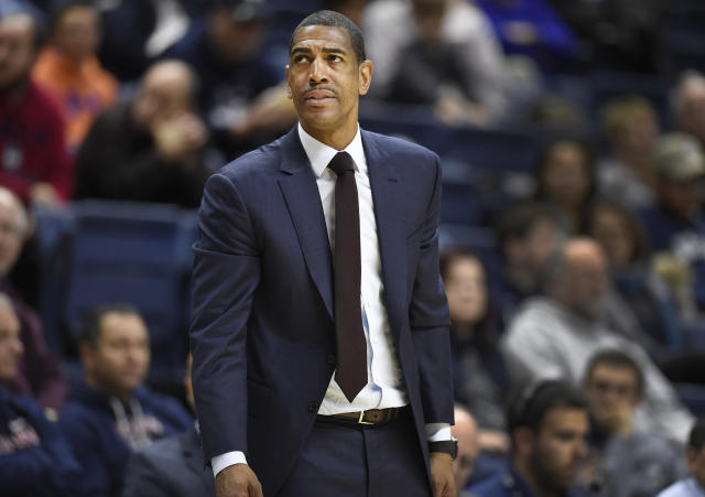 """Documents revealed on Wednesday demonstrate UConn's allegations of NCAA violations committed undeer Kevin Ollie, whom the school fired in March citing """"just cause."""" (AP)"""
