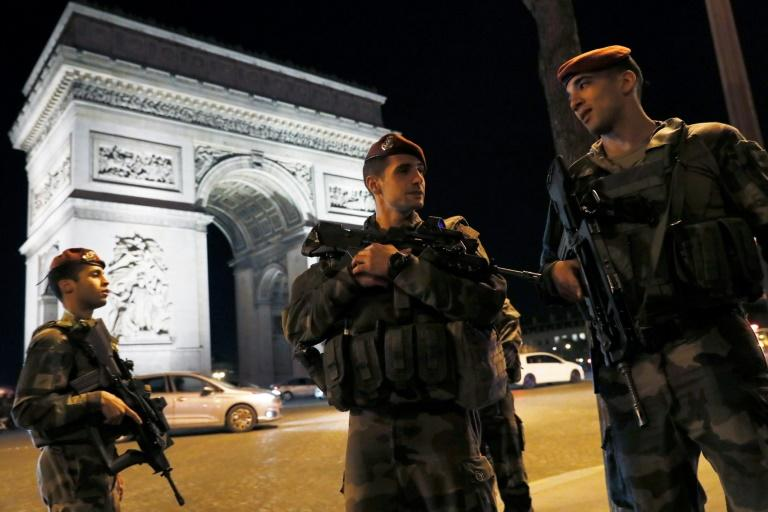 The shooting of a police officer and the wounding of two others on Paris's Champs Elysees is the latest in a string of atrocities in France since 2015