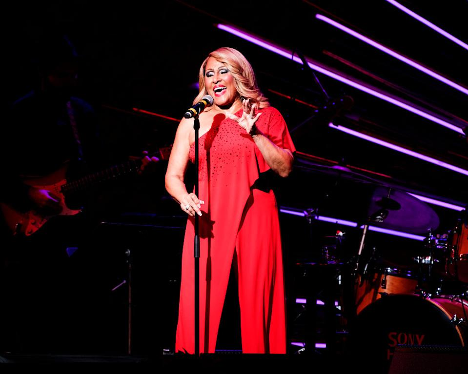 """Darlene Love performs a Christmas concert, """"Love For The Holidays,"""" at Sony Hall on Dec. 22, 2018, in New York City. (Photo: Debra L Rothenberg/Getty Images)"""