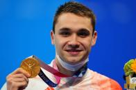 Swimming - Men's 200m Butterfly - Medal Ceremony