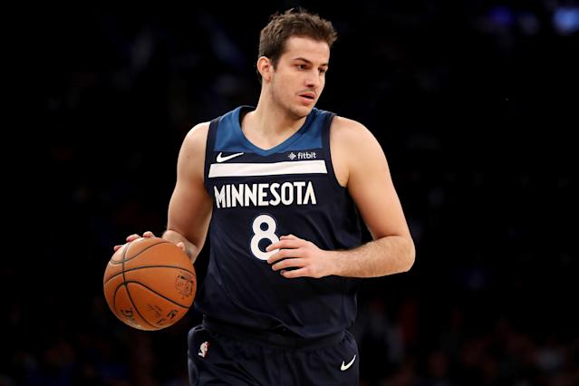"<a class=""link rapid-noclick-resp"" href=""/nba/players/4766/"" data-ylk=""slk:Nemanja Bjelica"">Nemanja Bjelica</a> had agreed to terms on a one-year deal with Philadelphia on July 5 … but he never actually signed it. (Getty)"