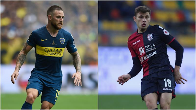 Boca accept Cagliari's Nandez bid as Barella to Chelsea reports intensify