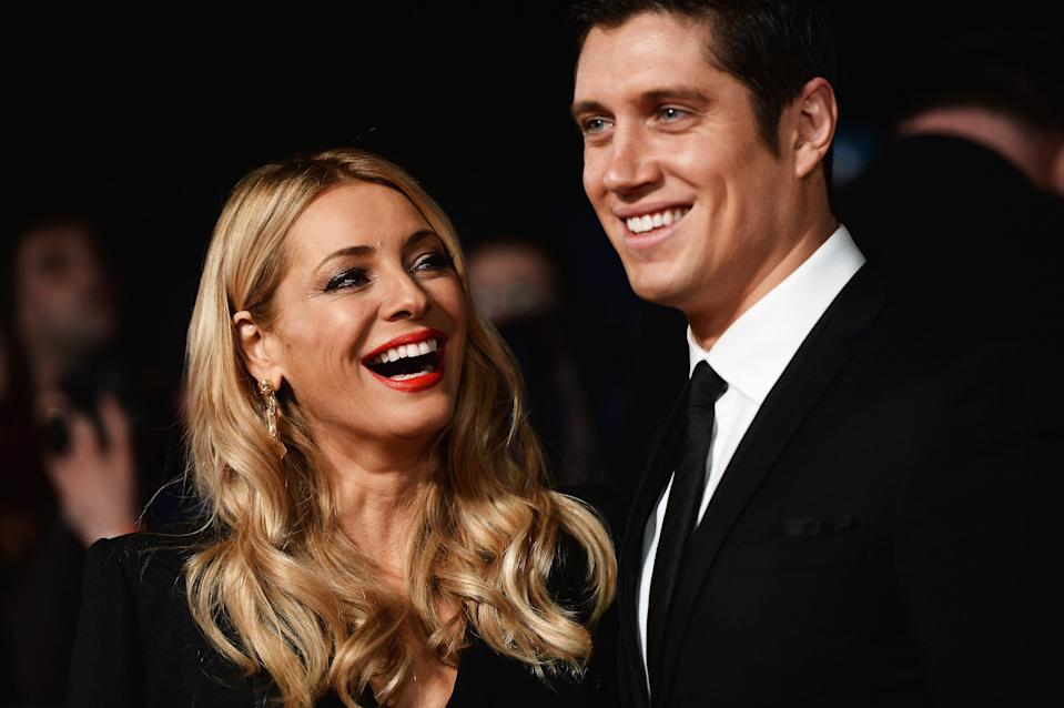 <p>Vernon Kay shared how he renewed his vows with Tess Daly in France</p> (Getty Images)