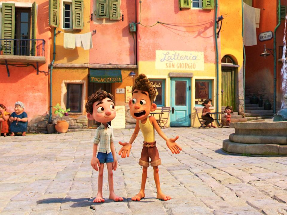 There's a tactile quality to it all that feels vaguely reminiscent of claymation (Disney)