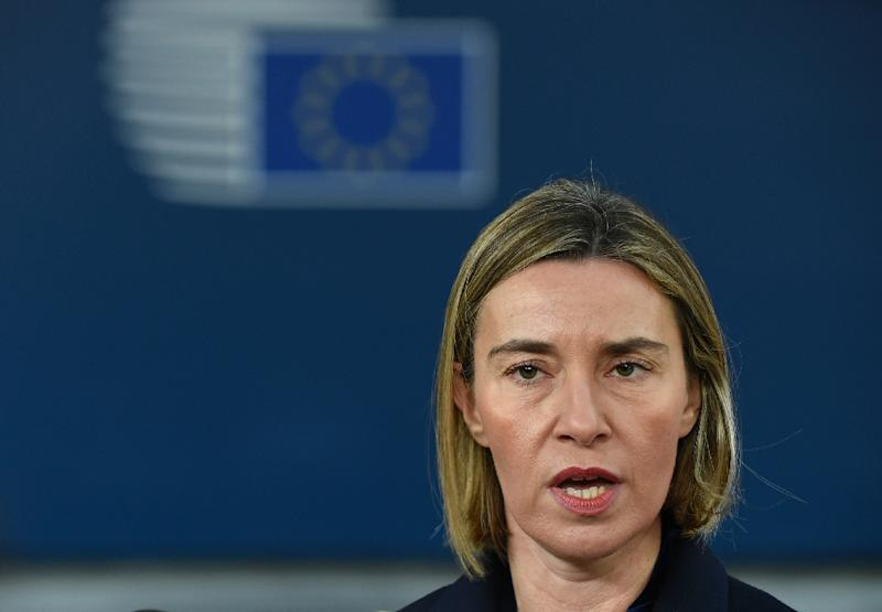 European Union leader: United States 'committed' to Iran nuclear deal