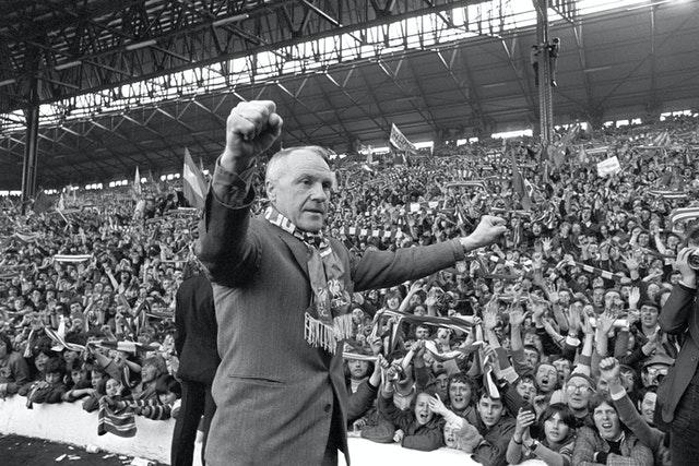 Bill Shankly won three First Division titles with Liverpool
