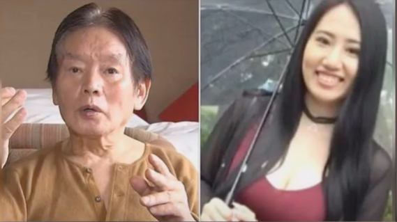 <p>Screengrab. A young widow was arrested for killing her husband who was called Japanese 'Don Juan'</p> (Alive People YouTube)