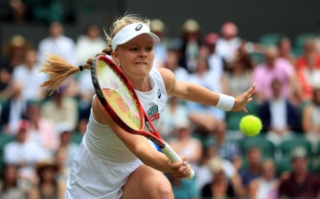 Harriet Dart came through qualifying in Melbourne (Mike Egerton/PA)