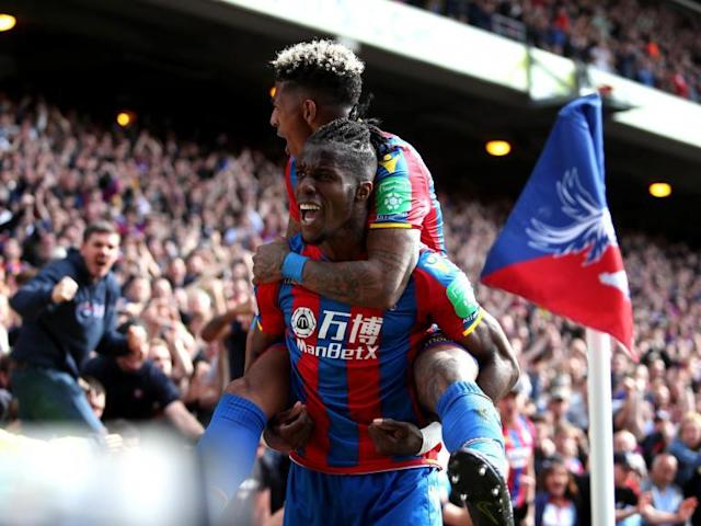 West Brom exit Premier League with a whimper as Crystal Palace prove too strong