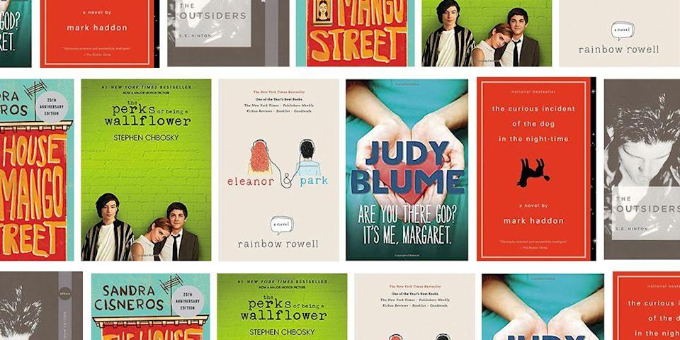 """<p>Whether your teen is a certified bookworm or a reluctant reader, everyone can benefit from diving into a good novel. Teens who <a href=""""https://www.familyeducation.com/school/reading-activities/benefits-reading-teen"""" rel=""""nofollow noopener"""" target=""""_blank"""" data-ylk=""""slk:read widely"""" class=""""link rapid-noclick-resp"""">read widely</a> can better handle complex concepts, score better on standardized tests, and are often more accepting of those who are different from themselves. And for a lot of teenagers who claim to hate reading, finding the right subject matter may prove the difference between grumbling over finishing their required reading list and devouring a new novel without coaxing. </p><p>Because middle grade and young adult books have more to offer than ever before, there's no shortage of great literature available that speaks directly to the life and times your Gen Zer. You may already know the seminal works by literary legends like <a href=""""https://www.amazon.com/Harper-Lee/e/B00456LE3M?tag=syn-yahoo-20&ascsubtag=%5Bartid%7C10055.g.22749180%5Bsrc%7Cyahoo-us"""" rel=""""nofollow noopener"""" target=""""_blank"""" data-ylk=""""slk:Harper Lee"""" class=""""link rapid-noclick-resp"""">Harper Lee</a> and <a href=""""https://www.amazon.com/J.-D.-Salinger/e/B000APYJ8Y?tag=syn-yahoo-20&ascsubtag=%5Bartid%7C10055.g.22749180%5Bsrc%7Cyahoo-us"""" rel=""""nofollow noopener"""" target=""""_blank"""" data-ylk=""""slk:J.D. Salinger"""" class=""""link rapid-noclick-resp"""">J.D. Salinger</a>, and the heartstring-tugging high school romances that made <a href=""""https://www.amazon.com/John-Green/e/B001I9OQNE/?tag=syn-yahoo-20&ascsubtag=%5Bartid%7C10055.g.22749180%5Bsrc%7Cyahoo-us"""" rel=""""nofollow noopener"""" target=""""_blank"""" data-ylk=""""slk:John Green"""" class=""""link rapid-noclick-resp"""">John Green</a> a household name. If one or all of these speaks to your kiddo, we've got deeper cuts that will have them frantically downloading their next read. But if they don't bat an eyelash at those, we have more offbeat options that could strike their fan"""