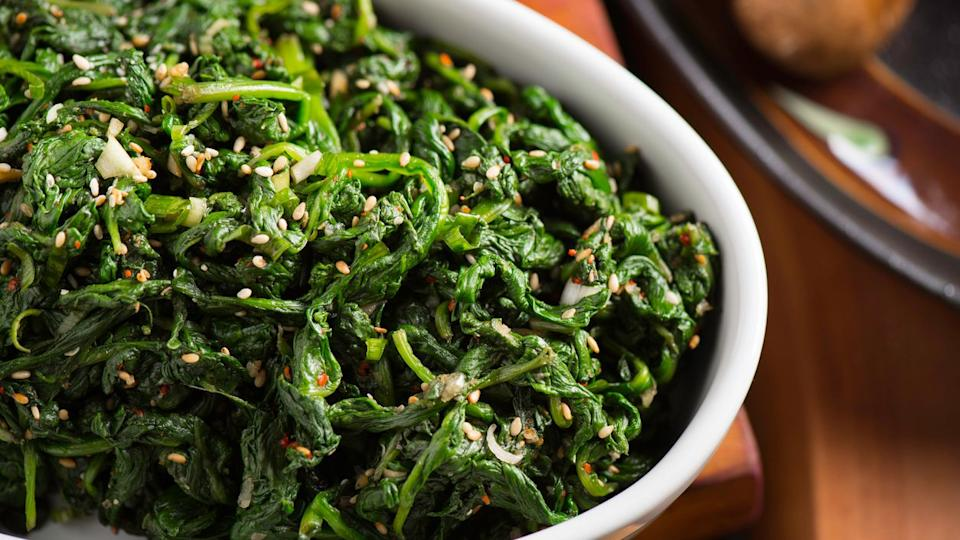 Spinach is replete with nutrients, minerals, vitamins and much more.
