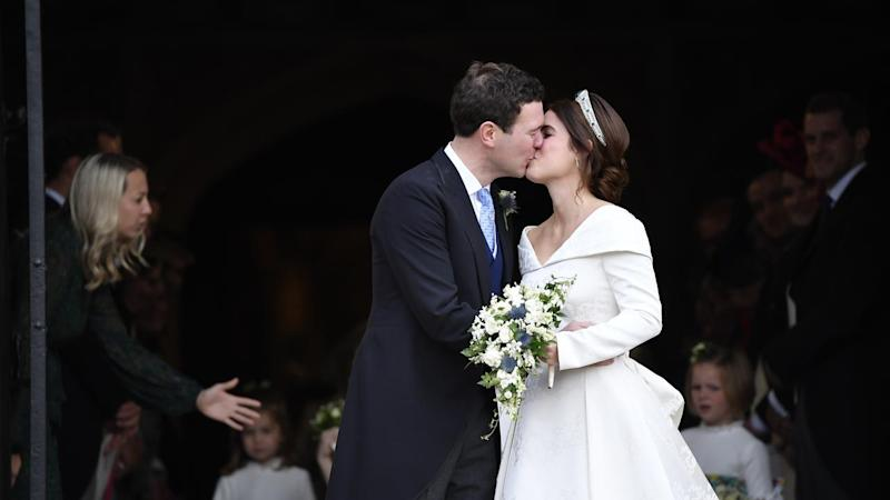 Princess Eugenie and Jack Brooksbank have been married in a lavish ceremony at Windsor Castle
