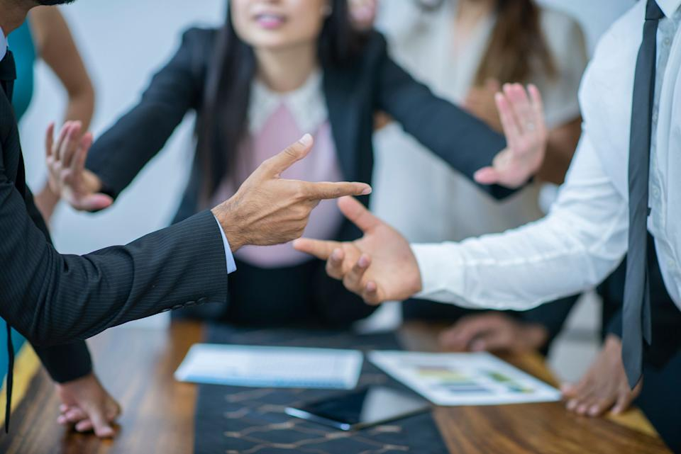 Are you more focused on protecting relationships or getting to a result? Workplace experts say this could dictate your conflict style on the job. (Photo: FatCamera/Getty)