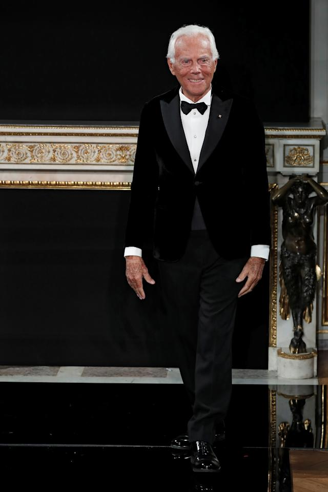 Designer Giorgio Armani has donated €1.25 million ($1.4 million) to a number of Italian hospitals and institutions tending to the cause of COVID-19.