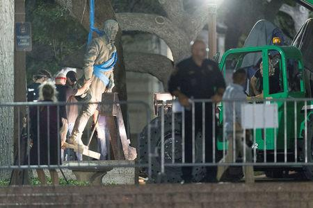 Houston man charged with trying to blow up Confederate statue