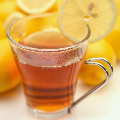 <b>Honey, ginger and lemon tea</b><br><br>Either make up your own by boiling water with lemon juice, honey and grated ginger or opt for the desk-friendly tea bag.