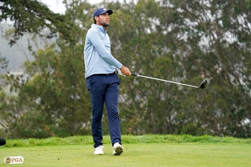 Johnson flirts with history to take lead at TPC Boston, Scheffler fires 59