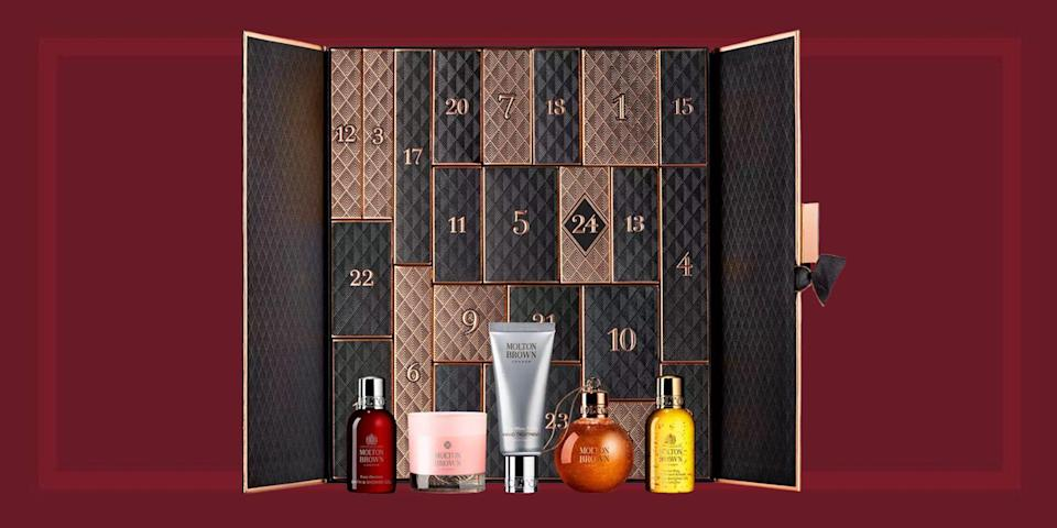 "<p>Product junkies and beauty enthusiasts, get your shopping bags ready, because beauty <a href=""https://www.townandcountrymag.com/style/fashion-trends/news/g2970/fancy-advent-calendars/"" rel=""nofollow noopener"" target=""_blank"" data-ylk=""slk:advent calendar season"" class=""link rapid-noclick-resp"">advent calendar season</a> has begun. While we're busy gathering this year's fresh crop of advent calendars, we're also taking a look back at the best and brightest of last year to inspire your wishlists. </p>"