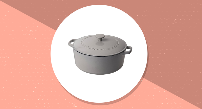 Save up to 46% on Cuisinart Cast Iron Cookware. (Photo: Amazon)