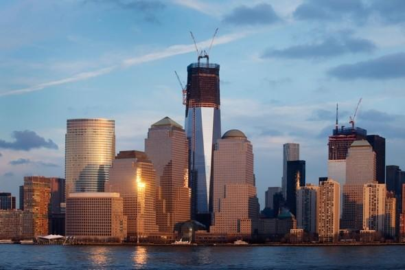 Freedom Tower frames Manhattan's skyline in new pics