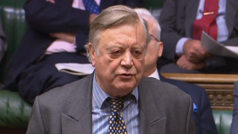 Ken Clarke calls Boris Johnson 'disingenuous' after PM ousts him from Tories