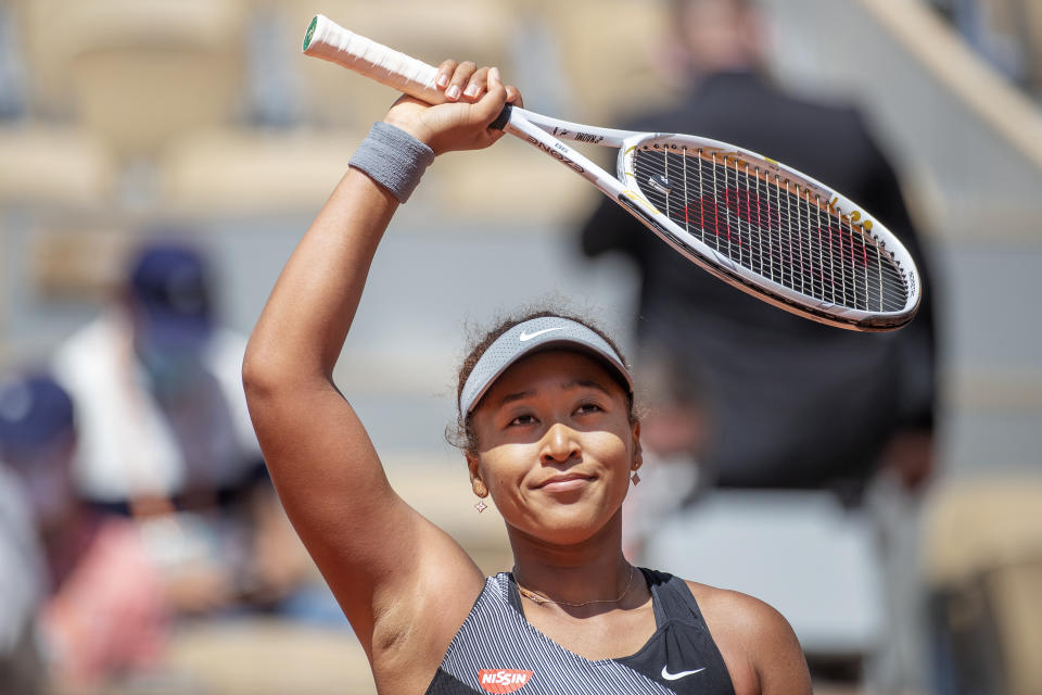 Naomi Osaka talks about her journey to preserve her mental health. (Photo: Getty Images)