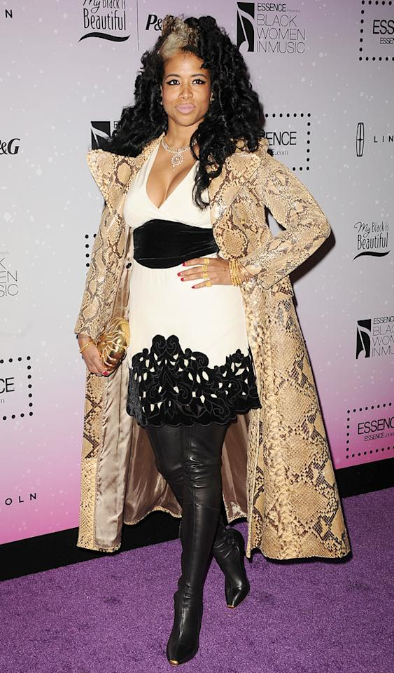 WEST HOLLYWOOD, CA - FEBRUARY 06:  Singer Kelis attends the 4th annual ESSENCE Black Women In Music event at Greystone Manor Supperclub on February 6, 2013 in West Hollywood, California.  (Photo by Jason LaVeris/FilmMagic)