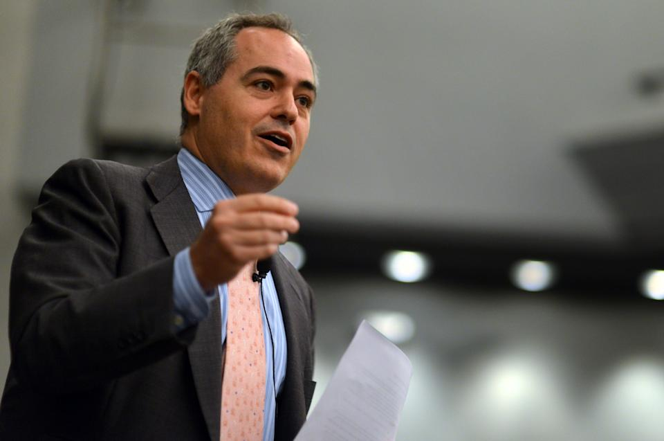 Mason For Survivors, a student-led advocacy group at George Mason University that speaks out on behalf of survivors of sexual assault, is happy to see the university's president hit the road. (Photo: The Washington Post via Getty Images)