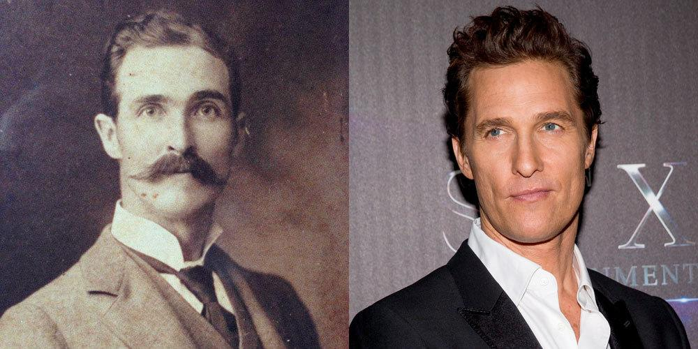 "<p>As McConaughey's 'True Detective' character put it, ""time is a flat circle"" hence why we think this <a href=""http://imgur.com/YkLjNFg"">Redditor's</a> great great grandfather could actually be Matthew McConaughey. Either that or he's travelled back in time through a wormhole, 'Interstellar' style.</p>"
