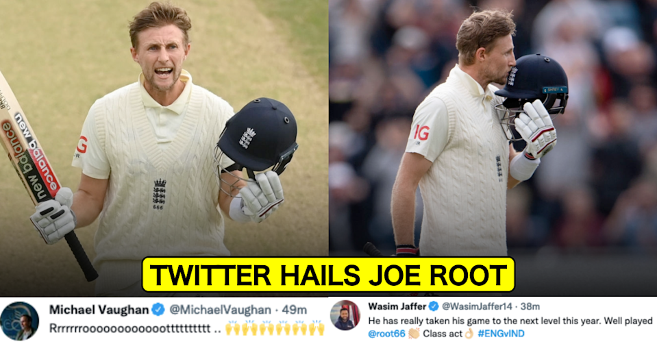 Twitter Erupts As Joe Root Hits 3rd Consecutive Century Against India In 3 Tests