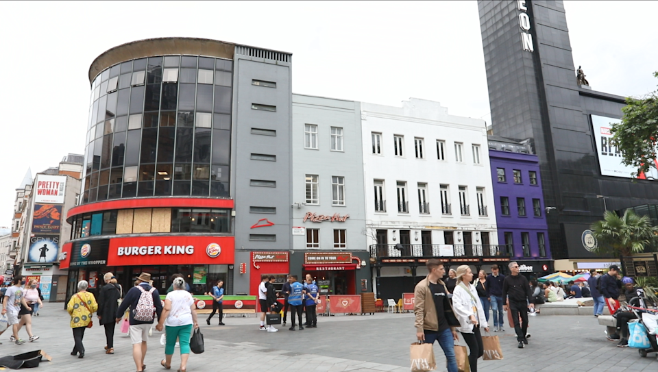 Leicester Square (Colliers / PA)