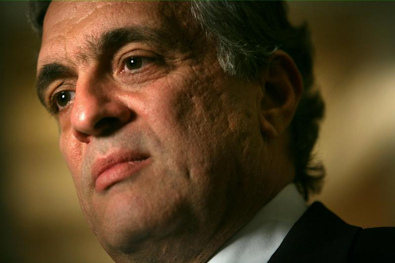FILE - In this April 30, 2007, file photo, George Tenet, former CIA director, listens during an interview in New York. The CIA does not give up its secrets easily. Under pressure from a Senate committee to declassify parts of a congressional report on harsh interrogations of suspected terrorists, the CIA is shadowed by its reluctance to open up about its operations and its past. The CIA officials who decide which secrets can be revealed have wrestled with Congress, archivists, journalists, former CIA employees and even a former CIA director. (AP Photos/Bebeto Matthews, File)