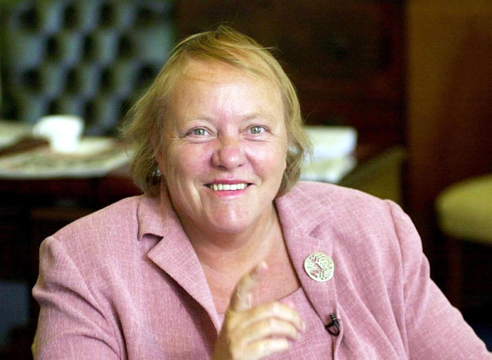 Former Labour cabinet minister Mo Mowlam (STR New / Reuters)