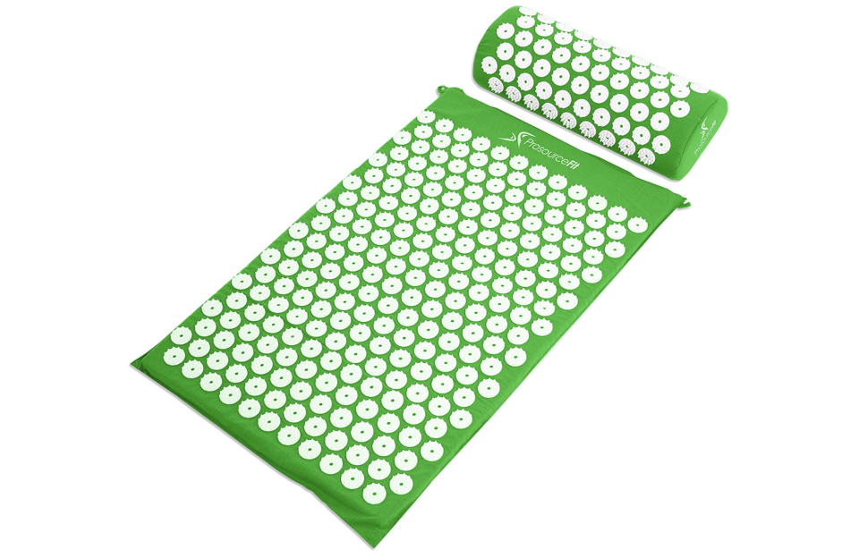 A life lesson contained in a mere mat and pillow: Sometimes a bit of pain yields a ton of pleasure. (Photo: Amazon)
