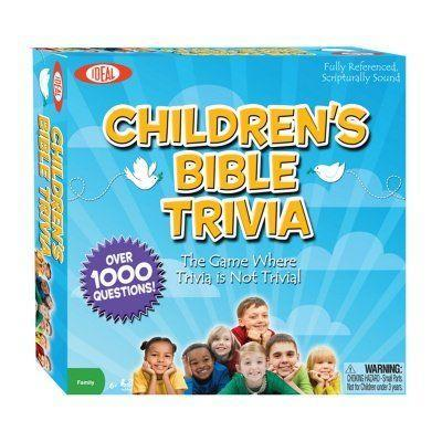 "<p>daywind.com</p><p><strong>$14.39</strong></p><p><a href=""https://daywind.com/christian-toys/games/childrens-bible-trivia-game/"" rel=""nofollow noopener"" target=""_blank"" data-ylk=""slk:Shop Now"" class=""link rapid-noclick-resp"">Shop Now</a></p><p>This is one game the whole family can enjoy. With more than 1,000 trivia questions inside, players can test their knowledge on all things Biblical as they work their way around the game board on a mission to become the winner.</p>"