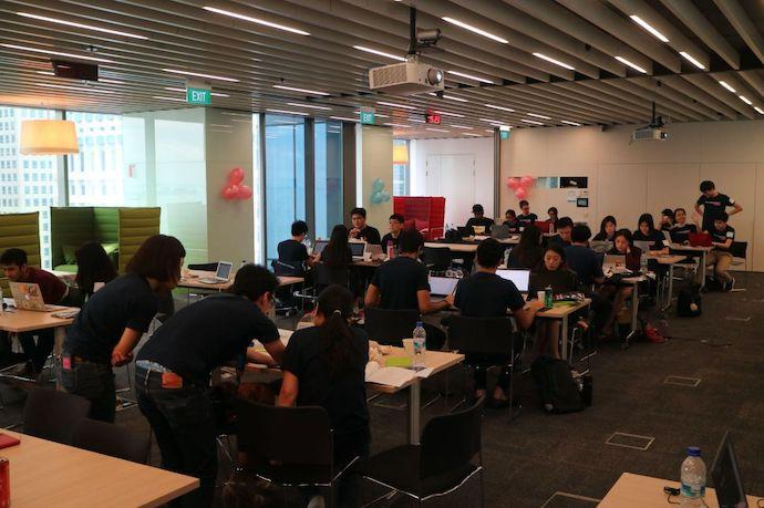 With latest AI hackathon by Girls in Tech Singapore and Citi, we