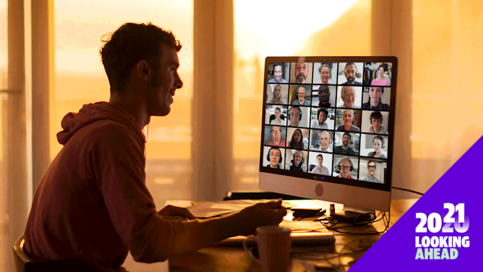 Virtual AA meetings are being embraced by many who have found unexpected perks when it comes to their recovery. (Photo: Getty Images)