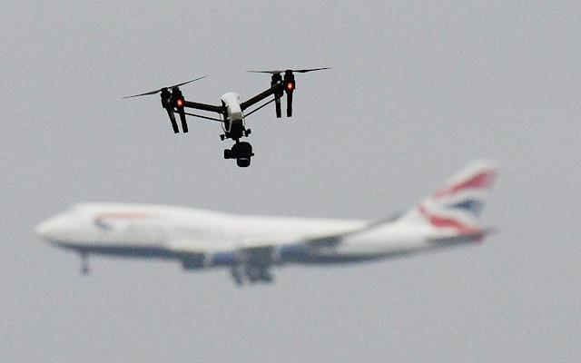 Drone threat to airports - PA Archive/PA Images