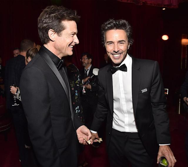 <p>Jason Bateman and Shawn Levy attend the Netflix Golden Globes after-party. (Photo: Kevin Mazur/Getty Images for Netflix) </p>