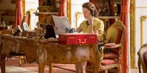 """<p><em>The Crown</em> made a name for itself during its first two seasons for its lavishly gorgeous sets and sky-high production budget. In Season 3, the show's recreated Buckingham Palace is getting an upgrade. </p><p>Left Bank, the production company behind the show, requested more studio space for its sets at <a href=""""http://www.elstreestudios.co.uk/film-tv/the-crown/"""" rel=""""nofollow noopener"""" target=""""_blank"""" data-ylk=""""slk:Elstree Studios"""" class=""""link rapid-noclick-resp"""">Elstree Studios</a>. </p><p>According to <a href=""""http://variety.com/2018/tv/news/netflix-left-bank-buckingham-palace-10-downing-street-1202786269/"""" rel=""""nofollow noopener"""" target=""""_blank"""" data-ylk=""""slk:Variety"""" class=""""link rapid-noclick-resp""""><em>Variety</em></a>, Left Bank specifically """"sought planning permission for a new Buckingham Palace main gates and exterior, including the iconic balcony on which the royals stand at key moments. The Downing Street plans show a new Number 10 and the road leading up to the building itself. The sketches for the new work, seen by <em>Variety</em>, show an aerial view of Downing Street with a Rolls Royce pulling up outside Number 10.""""</p>"""