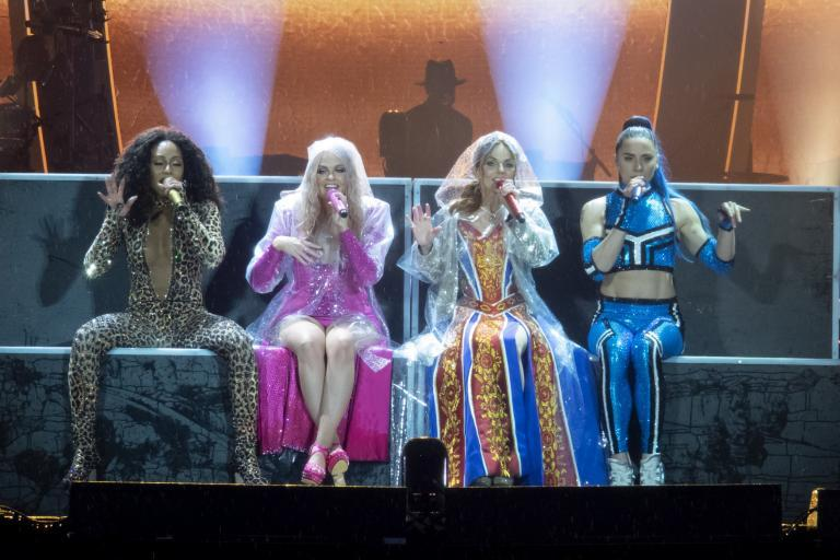 Spice Girls fans praise band for defying 'torrential rain' to give 'incredible' performance in Bristol