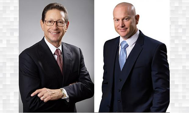 Howard DuBosar, left, is managing shareholder at The DuBosar Law Group and Jeff Ostrow is managing partner at Kopelowitz Ostrow. Courtesy photos
