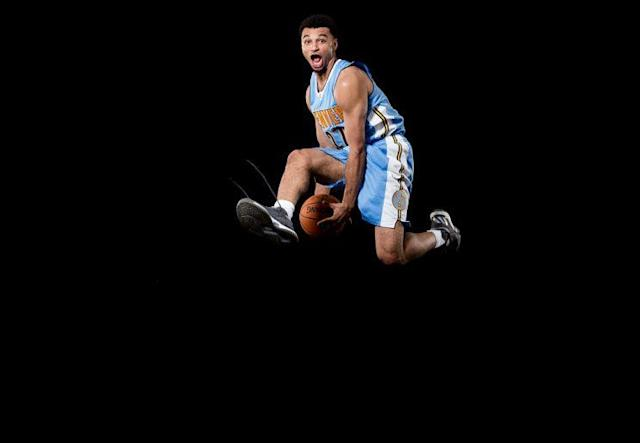 Jamal Murray gives Denver another backcourt scoring threat, so long as he ties his shoelaces. (Getty Images)