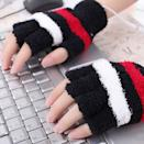 <p>Keep your fingers warm while you work with these <span> USB Heated Mittens </span> ($6). They come in a variety of colors and prints!</p>