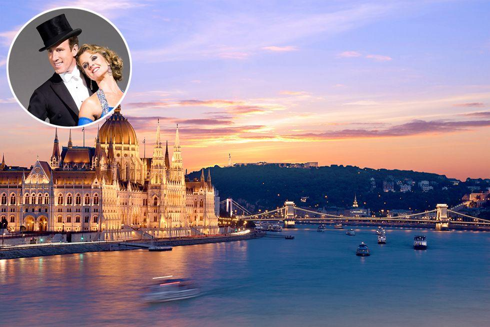 "<p>Love Strictly? Then you'll want to meet stars of the show Anton du Beke and Erin Boag on Prima's exclusive cruise along the Danube River. As you explore the likes of Budapest, Passau and Vienna, the dancing duo will show you some moves during a ballroom masterclass and you'll be able to watch a private performance.</p><p><strong>8 days from £1,595 in April 2021</strong></p><p><a class=""body-btn-link"" href=""https://www.primaholidays.co.uk/tours/danube-river-cruise-anton-du-beke-erin-boag"" target=""_blank"">FIND OUT MORE</a></p>"